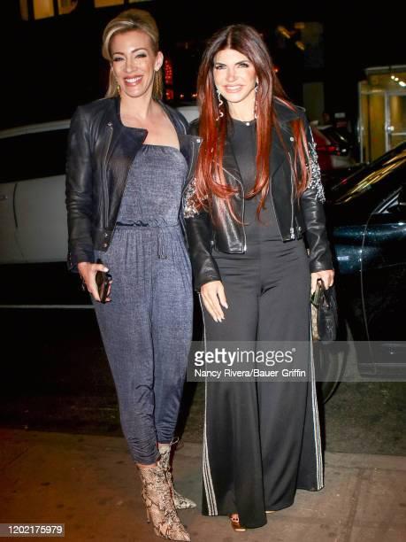 Teresa Giudice is seen on February 20, 2020 in New York City.