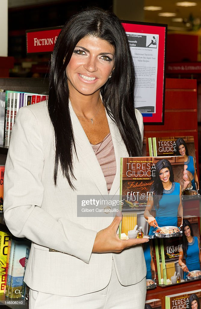 "Teresa Giudice Signs Copies Of ""Fabulicious!: Fast & Fit"""
