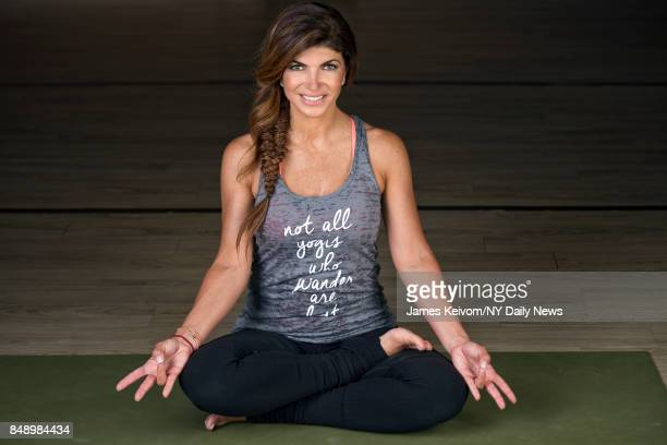 Teresa Giudice photographed for New York Daily News after her yoga class on Thursday July 7 2016 in Montville NJ Teresa Giudice from the Real...
