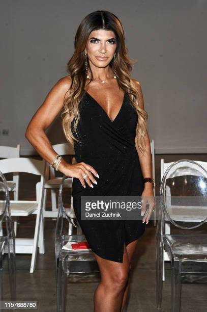 Teresa Giudice poses during the New York Summer Fashion Explosion hosted by Teresa Giudice on June 22, 2019 in New York City.