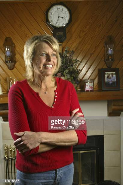Teresa Gretencord of Overland Park Kansas poses for photograph February 24 2006 Gretencord had gastrointestinal bypass surgery lost 175 pounds and is...