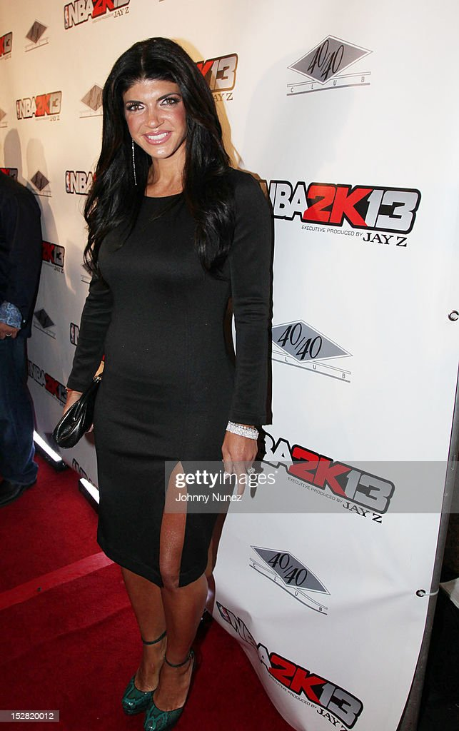 Teresa Guidice attends the Premiere Of NBA 2K13 With Cover Athletes And NBA Superstars at 40 / 40 Club on September 26, 2012 in New York City.