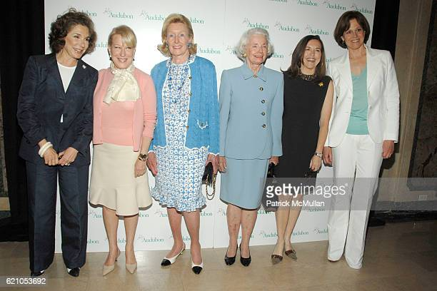 Teresa Heinz Kerry Bette Midler Norma Dana Jean Clark Allison Rockefeller and Sigourney Weaver attend NATIONAL AUDUBON SOCIETY Hosts Women in...