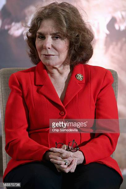 Teresa Heinz Kerry wife of US Secretary of State John Kerry attends the International Women of Courage Awards Ceremony at the State Department March...