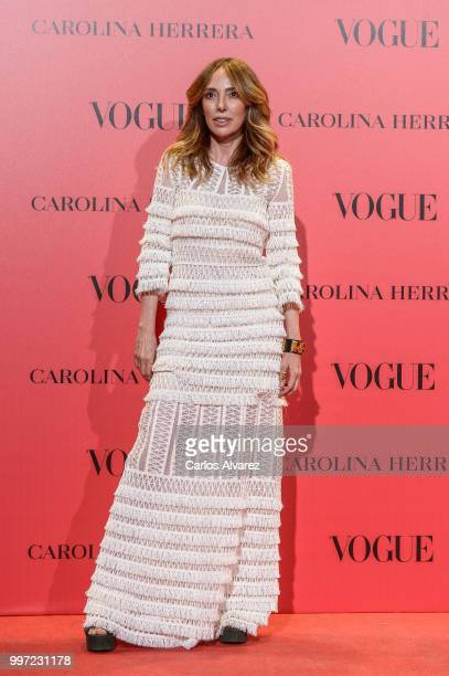 Teresa Helbig attends Vogue 30th Anniversary Party at Casa Velazquez on July 12 2018 in Madrid Spain