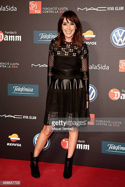 Teresa Helbig poses during a photocall for 'Fifth Gala Against HIV 2014' at the Museu Nacional d'Art de Catalunya on November 24 2014 in Barcelona...