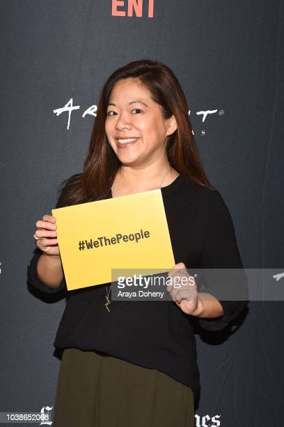 Krista Suh attends the 2018 LA Film Festival We The People Mind the Gap Life Beyond Diversity Programs at Writers Guild Theater on September 23 2018...
