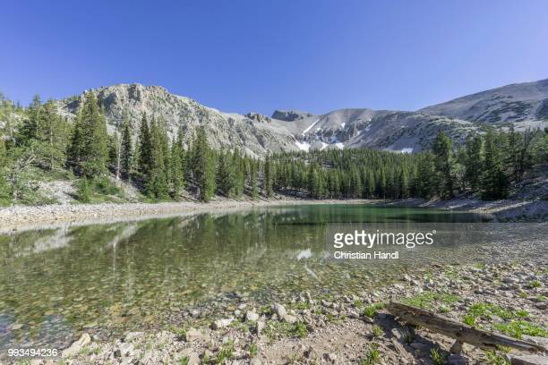 teresa lake, great basin national park, baker, nevada, united states - great basin stock pictures, royalty-free photos & images