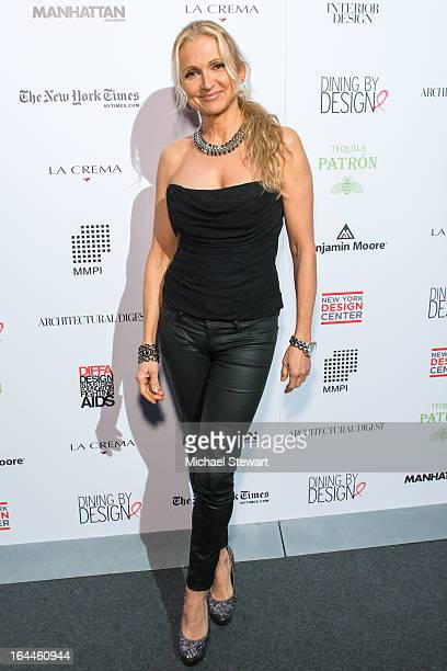 Teresa Laughlin attends DIFFA 16th Annual Dining By DesignCocktails By Design at Pier 94 on March 23 2013 in New York City