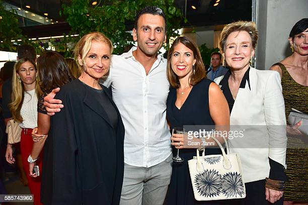 Teresa Laughlin Simak Hakaian Wendy Landau and Marlaina Deppe attend Amy Astley Celebrates the September Style Issue of Architectural Digest at...