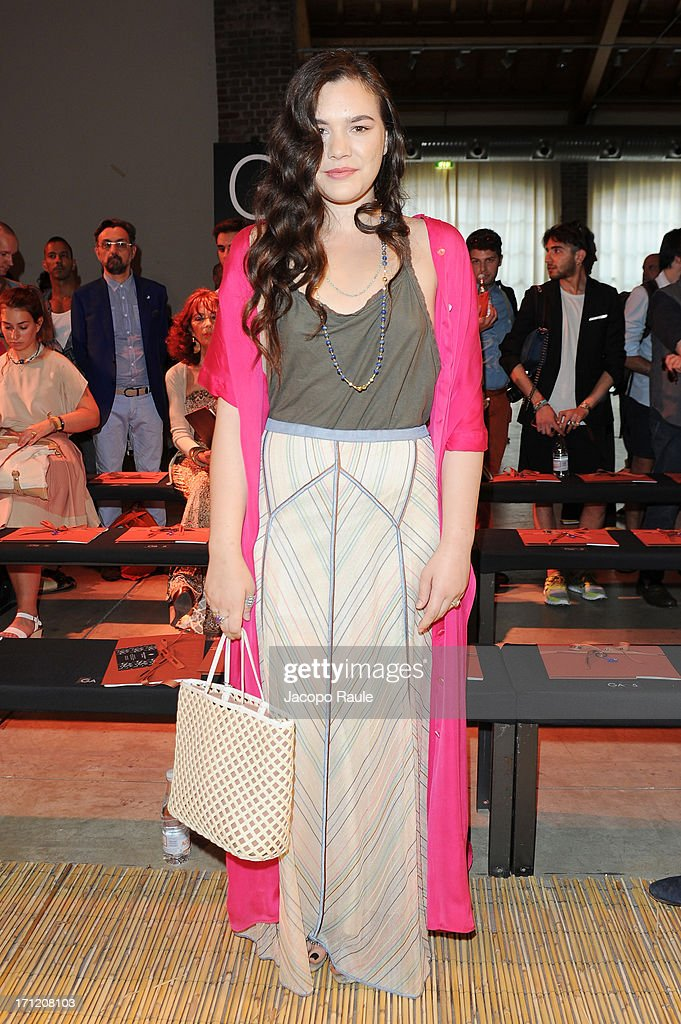Teresa Missoni attends the Missoni Collection show during Milan Menswear Fashion Week Spring Summer 2014 on June 23, 2013 in Milan, Italy.