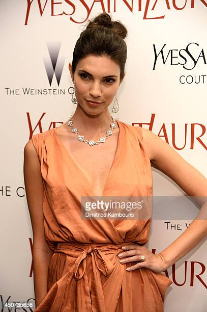 "Teresa Moore attends The Weinstein Company's ""Yves Saint Laurent"" premiere hosted by Yves Saint Laurent Couture Palette & The Cinema Society at..."