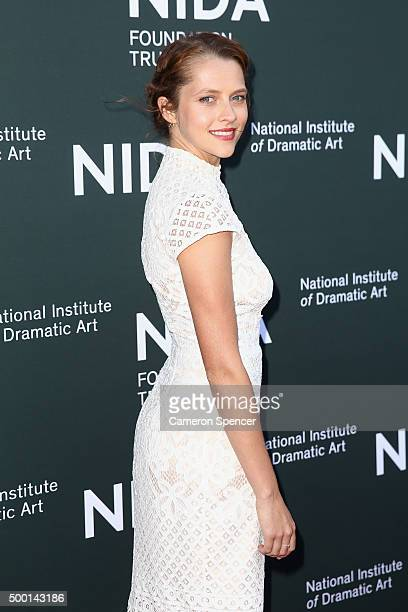 Teresa Palmer arrives ahead of The National Institute of Dramatic Art's new graduate school launch at NIDA on December 6 2015 in Sydney Australia