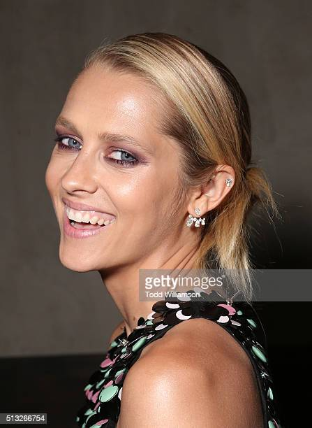 Teresa Palmer attends the after party for the Knight Of Cups Premiere on March 1 2016 in Los Angeles California