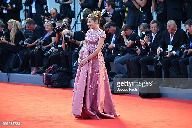 Teresa Palmer attends the premiere of 'Hacksaw Ridge' during the 73rd Venice Film Festival at Sala Grande on September 4 2016 in Venice Italy