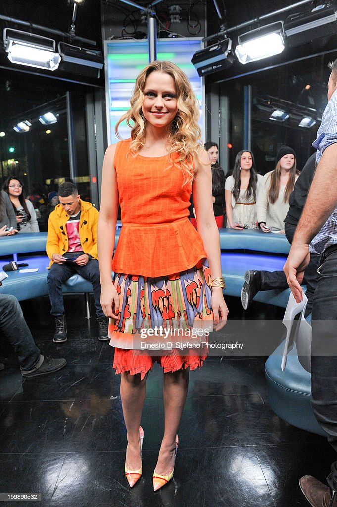 Teresa Palmer interview on New.Music.Live at MuchMusic Headquarters on January 21, 2013 in Toronto, Canada.