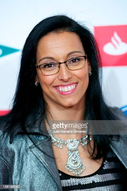 Teresa Perales attends As del Deporte awards 2012 at Palace Hotel on December 10 2012 in Madrid Spain