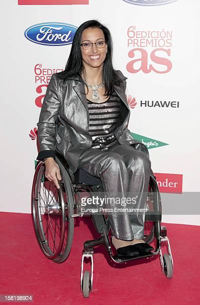 Teresa Perales attends As Del Deporte' Awards 2012 on December 10 2012 in Madrid Spain