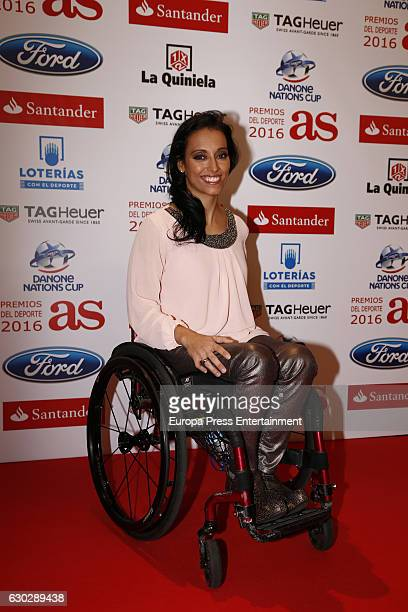 Teresa Perales attends 'As Del Deporte' awards 2016 photocall at Palace Hotel on December 19 2016 in Madrid Spain
