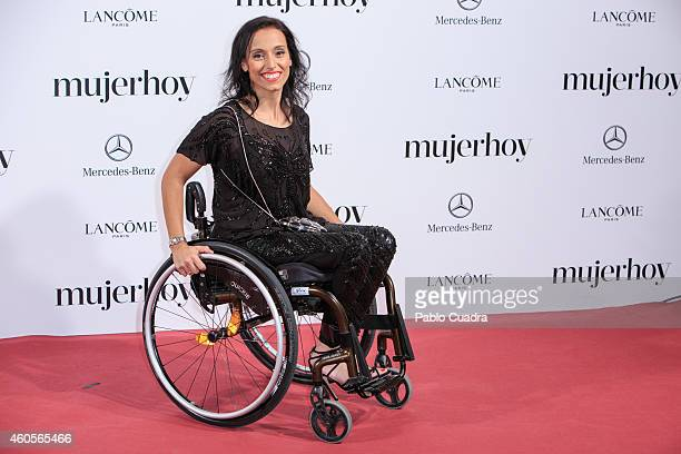 Teresa Perales attends 'Mujer Hoy' awards gala at Palace Hotel on December 16 2014 in Madrid Spain