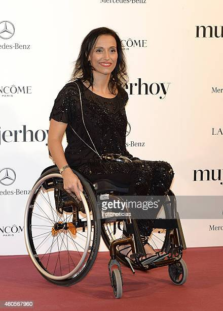 Teresa Perales attends the 2014 Mujer Hoy Awards at The Palace Hotel on December 16 2014 in Madrid Spain