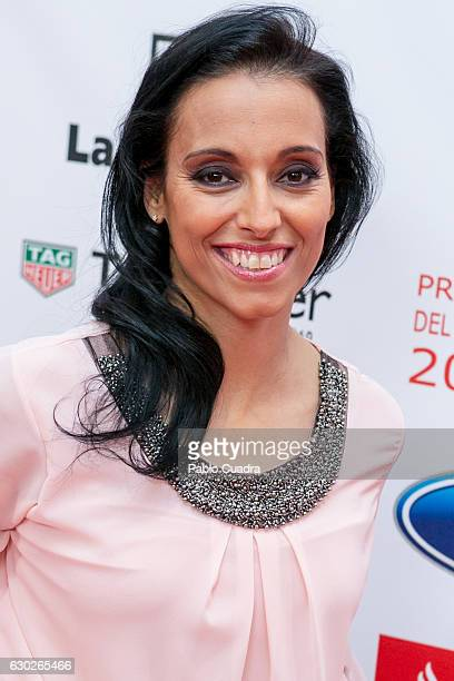 Teresa Perales attends the 'AS Del Deporte' awards 2016 gala at Westing Palace Hotel on December 19 2016 in Madrid Spain