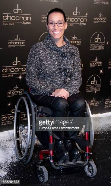 Teresa Perales attends the Chocron Jewelry party in the retirement park of Florida on November 22 2017 in Madrid Spain