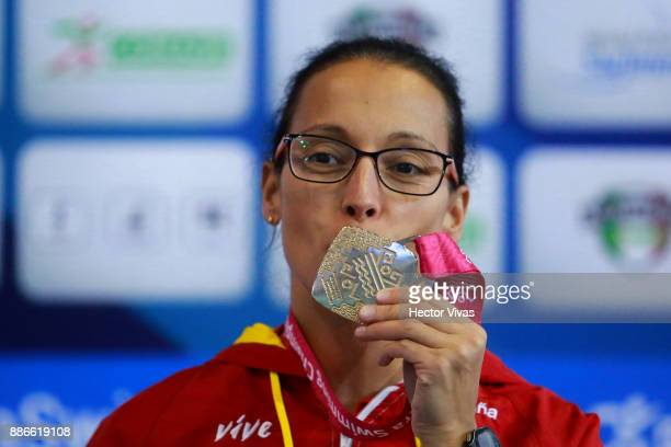 Teresa Perales of Spain celebrates after winning the Women's 50m Freestyle S5 Final during day 4 of the Para Swimming World Championship Mexico City...