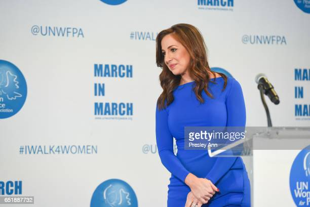 Teresa Priolo attends The United Nations Women for Peace Association's Annual Awards Luncheon on March 10 2017 in New York City