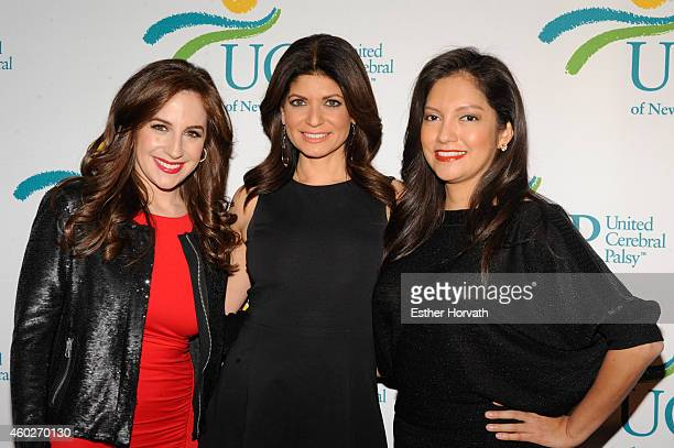 Teresa Priolo Tamsen Fadal and Ines Rosales attend 5th Annual UCP Of NYC Santa Project Party Auction benefiting United Cerebral Palsy Of New York...