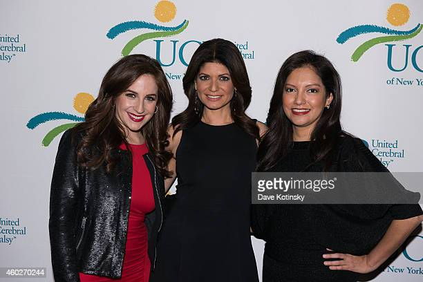 Teresa Priolo Tamsen Fadal Ines Rosales attends the 5th Annual UCP Of NYC Santa Project Party Auction benefiting United Cerebral Palsy Of New York...