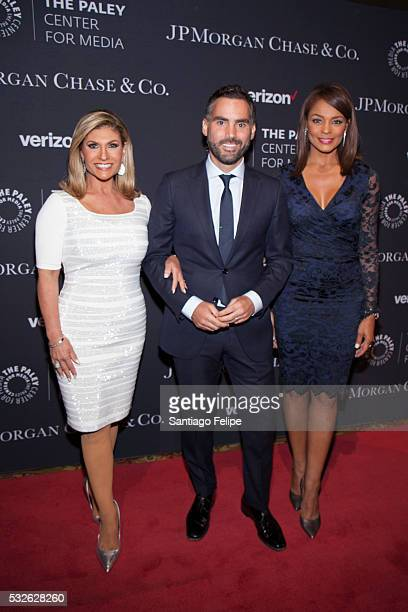 Teresa Rodriguez Enrique Acevedo and Ilia Calderon attend The Paley Center for Media's Tribute To Hispanic Achievements in Television at Cipriani...