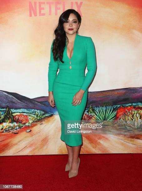 Teresa Ruiz attends Netflix's Narcos Mexico Season 1 Premiere at Regal Cinemas LA Live on November 14 2018 in Los Angeles California