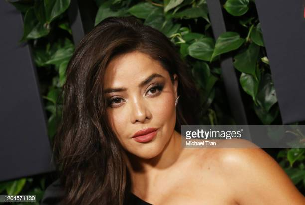 Teresa Ruiz attends the Los Angeles premiere of Netflix's Narcos Mexico Season 2 held at Netflix Home Theater on February 06 2020 in Los Angeles...