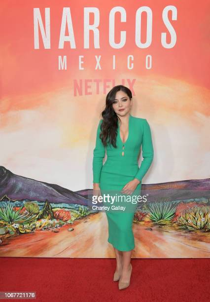 Teresa Ruiz attends the Netflix Original Series Narcos Mexico special screening at LA Live in Los Angeles CA on November 14 2018 in Los Angeles...