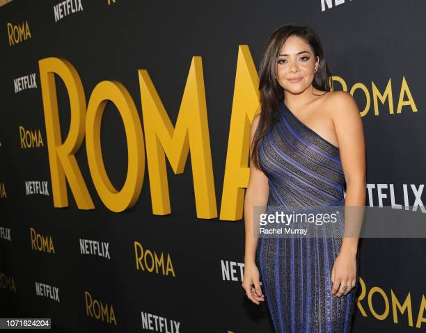 Teresa Ruiz attends the Netflix Roma Premiere at the Egyptian Theatre on December 10 2018 in Hollywood California
