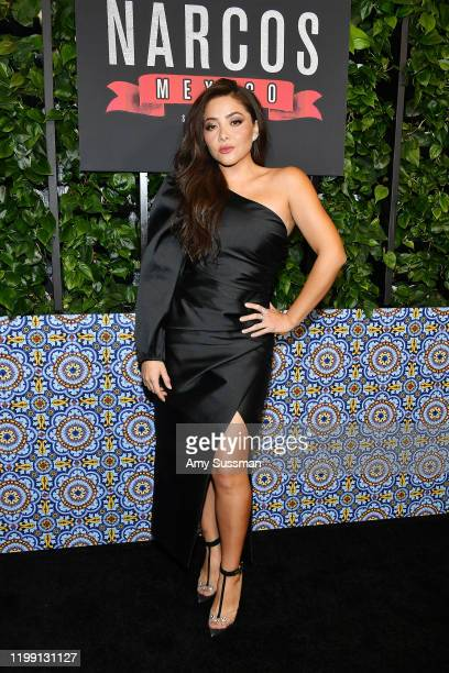 Teresa Ruiz attends the premiere of Netflix's Narcos Mexico Season 2 at Netflix Home Theater on February 6 2020 in Los Angeles California