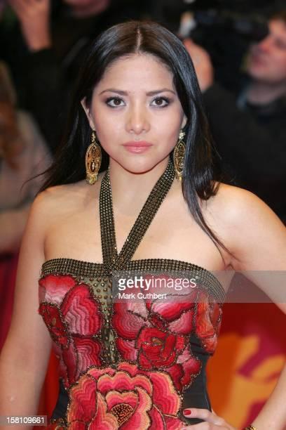 Teresa Ruiz Promotes 'Bordertown' At The 57Th Berlin International Film Festival