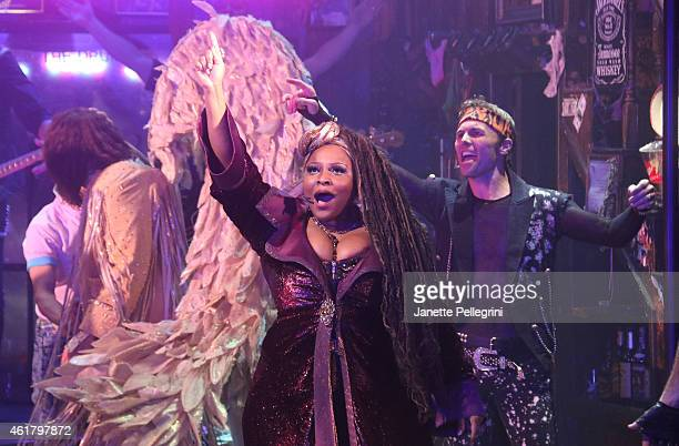 Teresa Stanley attends Rock Of Ages Final Performance On Broadway at Helen Hayes Theatre on January 18 2015 in New York City