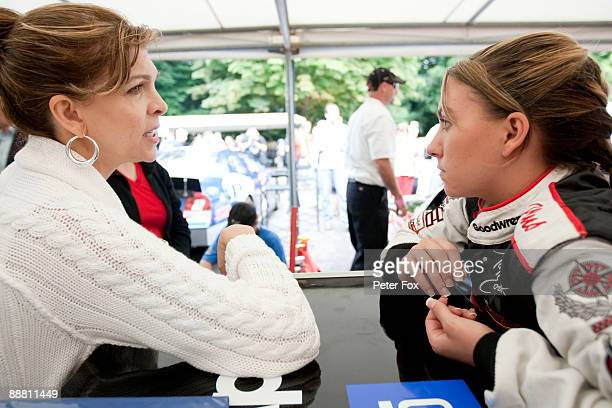 Teresa Taylor Earnhardt during day one of The Goodwood Festival of Speed at The Goodwood Estate on July 3 2009 in Chichester England