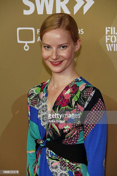 Teresa Weissbach attends the 'Die Ausloeschung' premiere at Astor Film Lounge on April 17 2013 in Berlin Germany