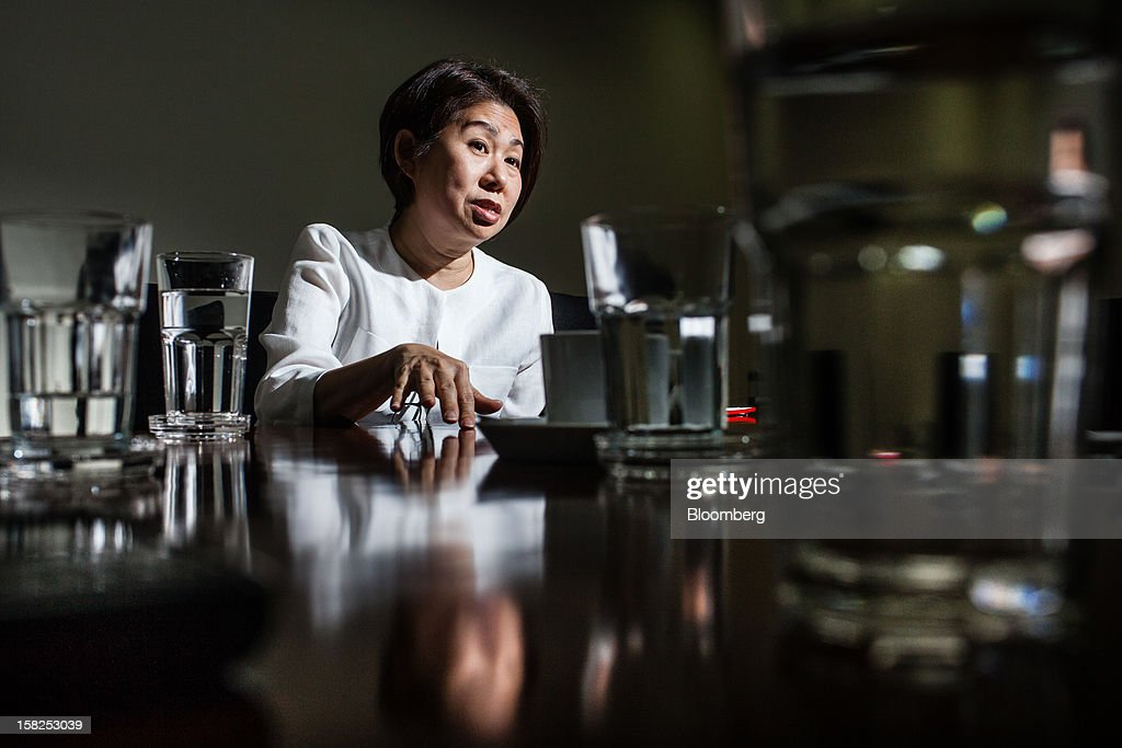 'BEST PHOTOS OF 2012' (): Teresita Sy-Coson, vice chairwoman of SM Investments Corp., speaks during an interview in Manila, the Philippines, on Monday, May 21, 2012. BDO Unibank Inc., a unit of SM Investments, aims to reduce its dependence on consumer loans by tapping credit demand from the nation's biggest companies, including Ayala Corp. and San Miguel Corp., as they bid for $16 billion in infrastructure projects unveiled in 2010 by President Benigno Aquino. Photographer: Julian Abram Wainwright/Bloomberg via Getty Images