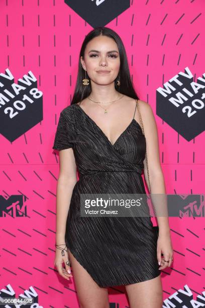 Teresuch attends the MTV MIAW Awards 2018 at Arena Ciudad de Mexico on June 2 2018 in Mexico City Mexico