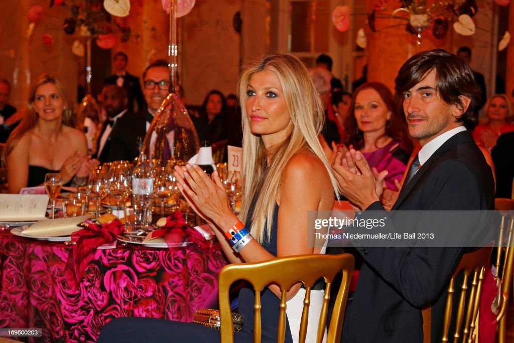 Tereza Maxova and Burak Oymen attend the 'AIDS Solidarity Gala 2013' at Hofburg Vienna on May 25, 2013 in Vienna, Austria.