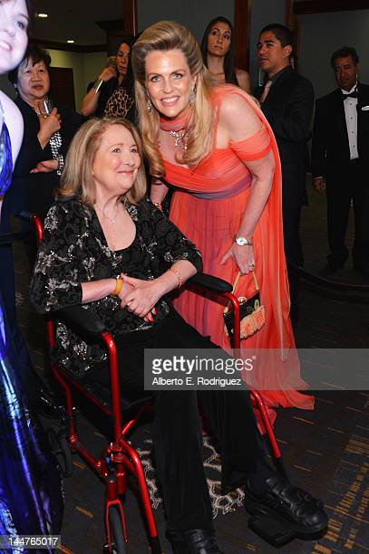 Teri Garr and Nancy Davis attend the 19th Annual Race To Erase MS held at the Hyatt Regency Century Plaza on May 18 2012 in Century City California