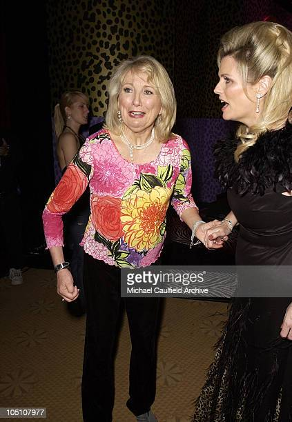 Teri Garr and Nancy Davis during The 10th Annual Race to Erase MS Show at Century Plaza Hotel in Century City California United States