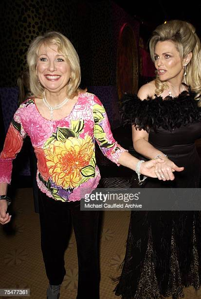 Teri Garr and Nancy Davis during The 10th Annual Race to Erase MS Show at the Century Plaza Hotel in Century City California