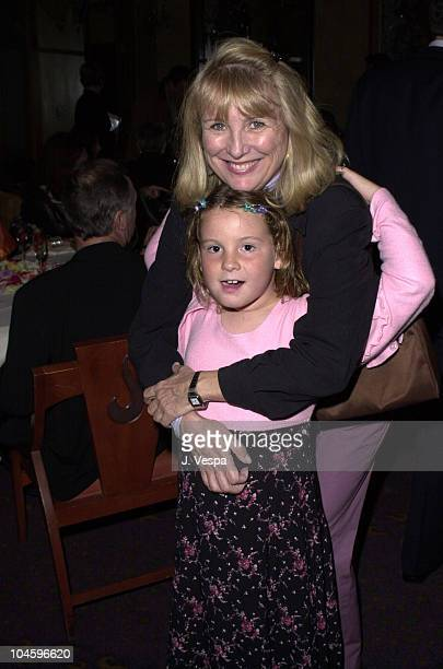 Teri Garr Daughter during Nancy Ellison's Barbie Live Book Release Party at Spago Restaurant in Beverly Hills California United States