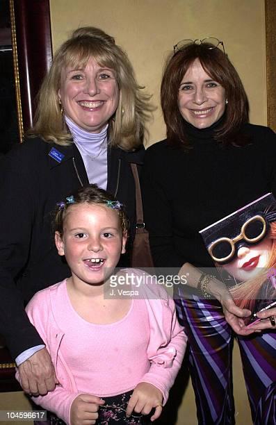 Teri Garr Daughter Nancy Ellison during Nancy Ellison's Barbie Live Book Release Party at Spago Restaurant in Beverly Hills California United States