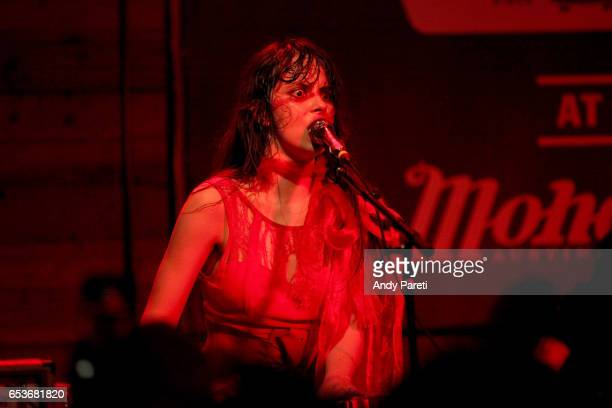 Teri Gender Bender of Le Butcherettes perform onstage at House of Vans during 2017 SXSW Conference and Festivals at Mohawk Indoor on March 15 2017 in...